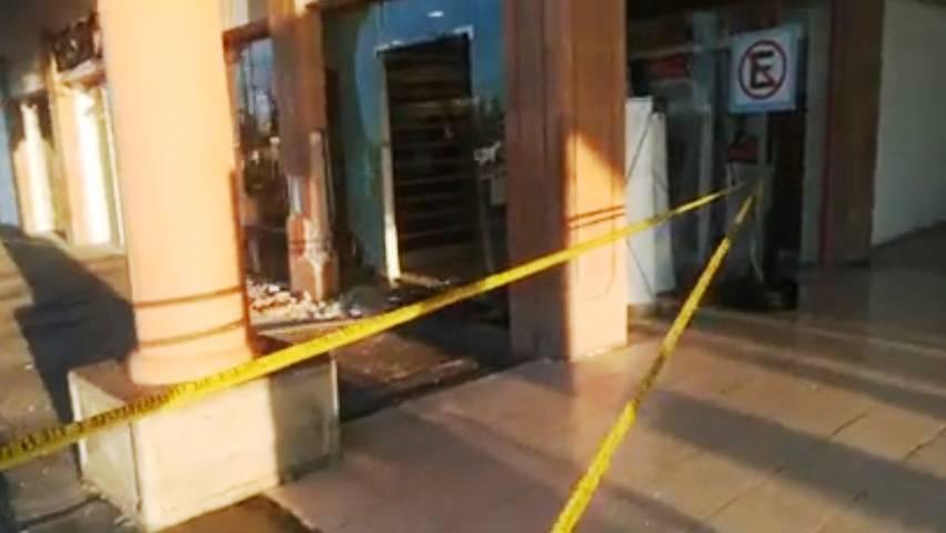 Intentan robar cajeros en Soriana Ocotlán; policía capitalina ausente