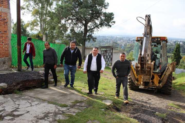 Alcalde pone en marcha obra de mejoramiento urbano en la 21 de marzo de Belén