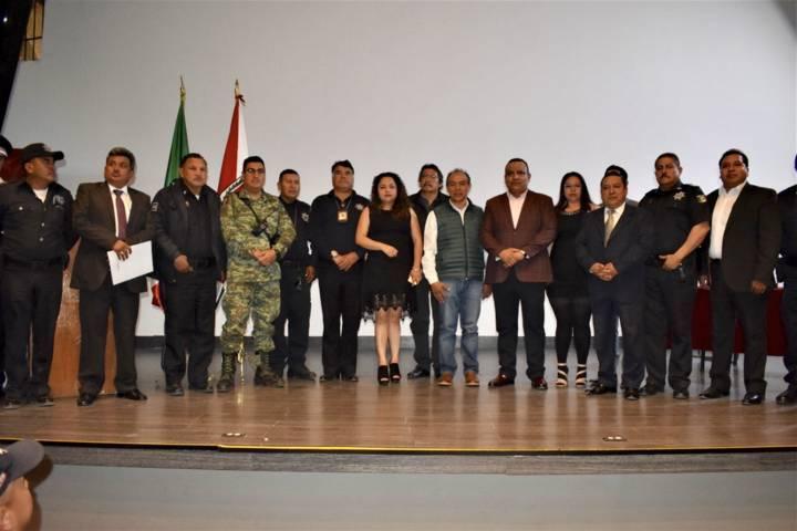Zacatelco fue sede de la reunión Construcción de la Paz y Seguridad Región III