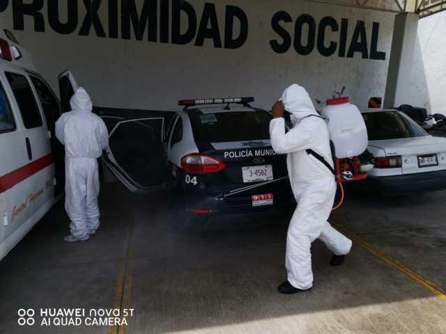 Gobierno de Tzompantepec realizo cuarta etapa de sanitización  en el municipio