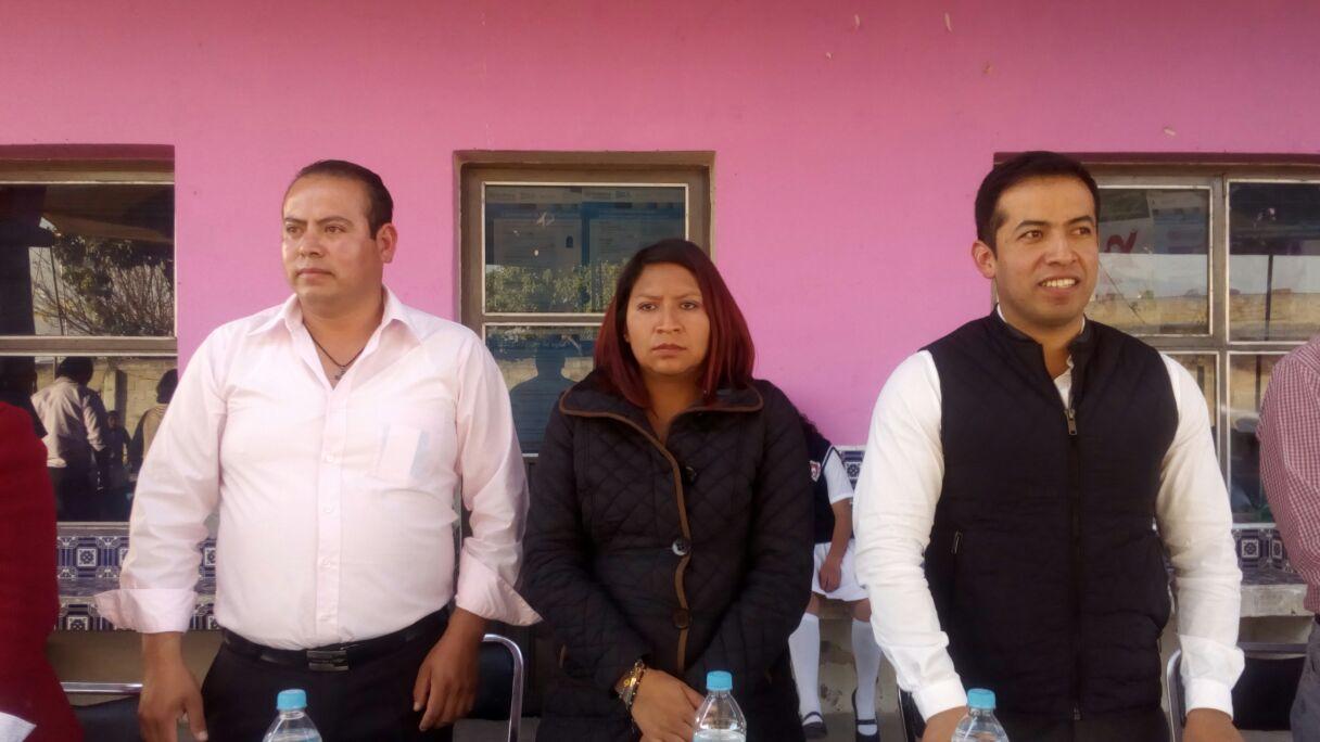 Rindió protesta presidente de comunidad de San Lucas Tlacochcalco