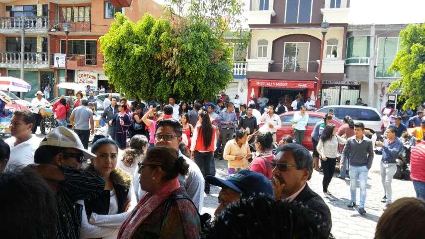 Hace negocio Ayuntamiento de Totolac con evento del PRI