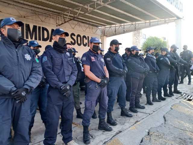 Ayuntamiento dotó de equipo preventivo ante Covid19 a elementos de seguridad pública