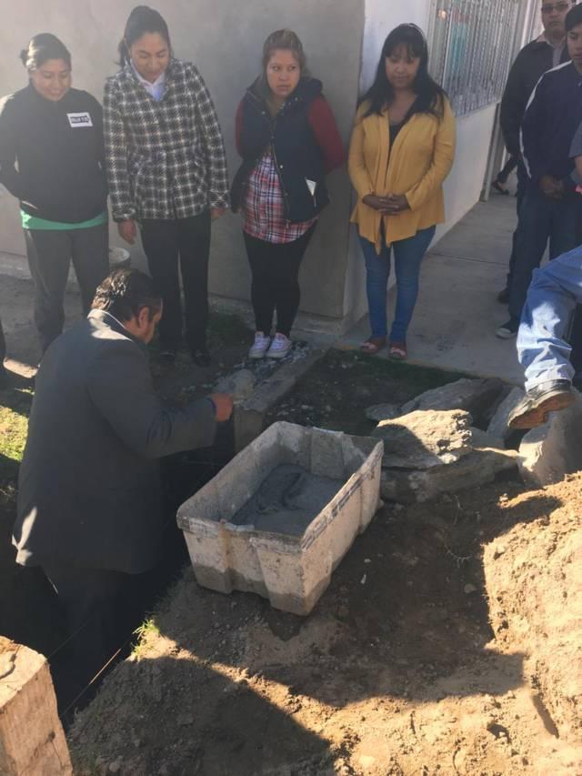 Alcalde mejora la infraestructura educativa del kínder Olin Yilistli