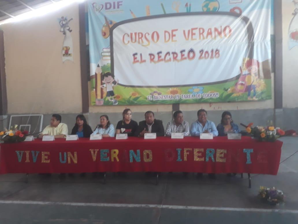Ayuntamiento y SMDIF arrancan curso de verano 2018