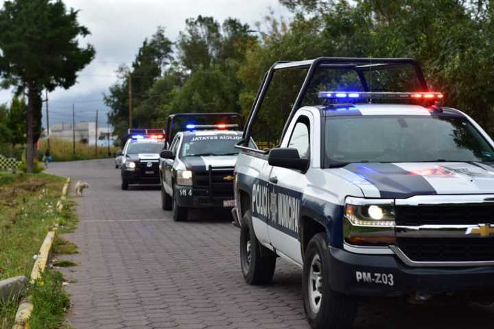 Policías de Zacatelco, evitan secuestró y desmantelan a presunta banda