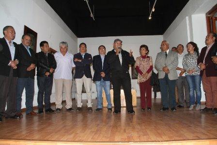 """Abre sus puertas la exposición """"Piedras y Frescos"""" en la galería municipal"""