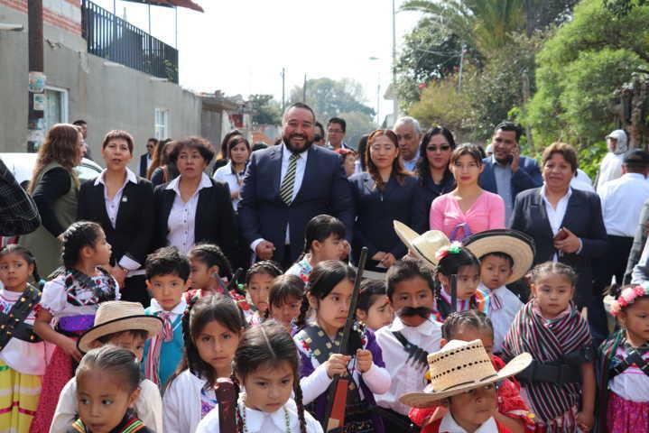 Conmemoran en Xicohtzinco 109 Aniversario de la Revolución Mexicana