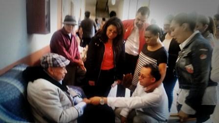 Realiza CEDH recorrido en asilo de ancianos en Españita
