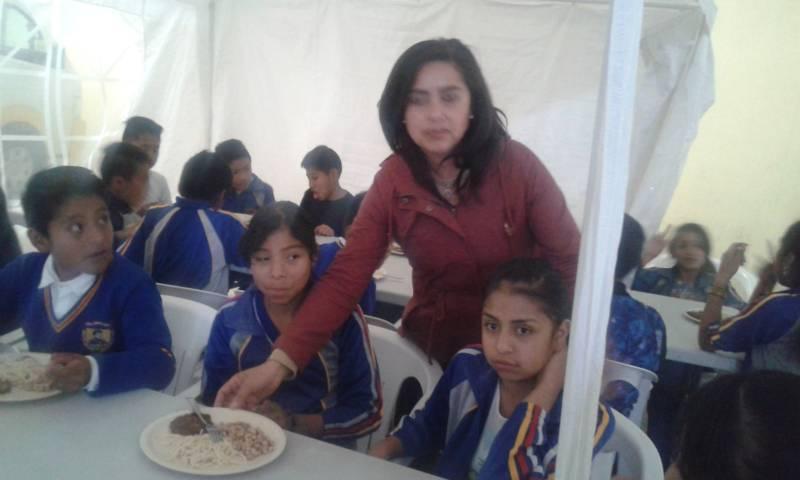 La alimentación en un alumno es fundamental para su desarrollo: PPL