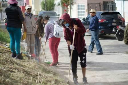 Efectuó comuna capitalina 18 Jornadas de Limpieza durante 2018