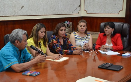 Rinde protesta Comisión de Ecología y Preservación de la Laguna de Acuitlapilco