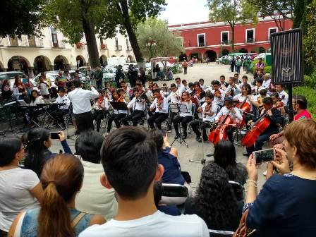Efectúan Jornada de Arte y Cultura en la capital