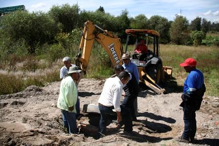 Después de 20 años la privada Morelos de Amaxac tendrá servicios