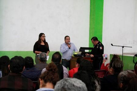 Garantizar la seguridad prioridad de mi gobierno: Carín Molina