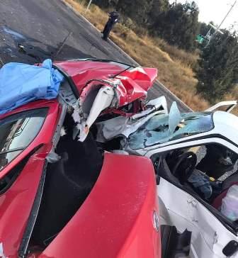 Deja fatal accidente carretero un muerto y dos lesionados