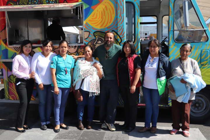 Realizan Taller de comida saludable en  Xicohtzinco