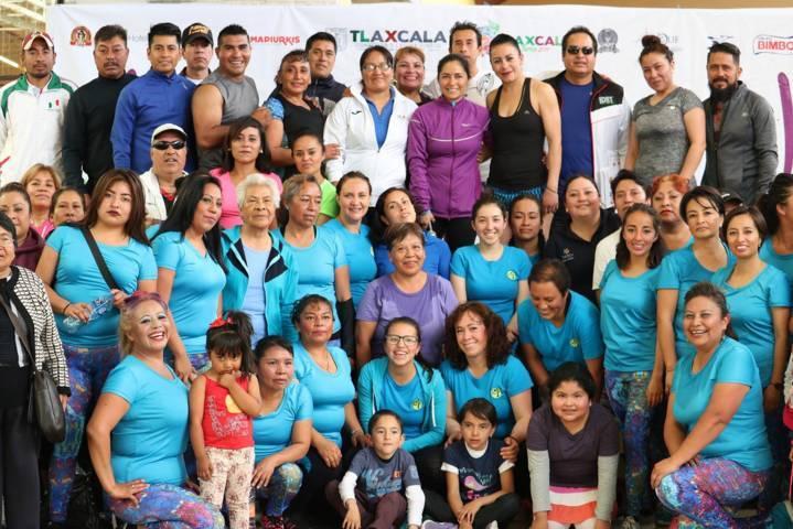 Engalanan demostración de fitness y boxeo amateur eventos de la Feria Tlaxcala 2017