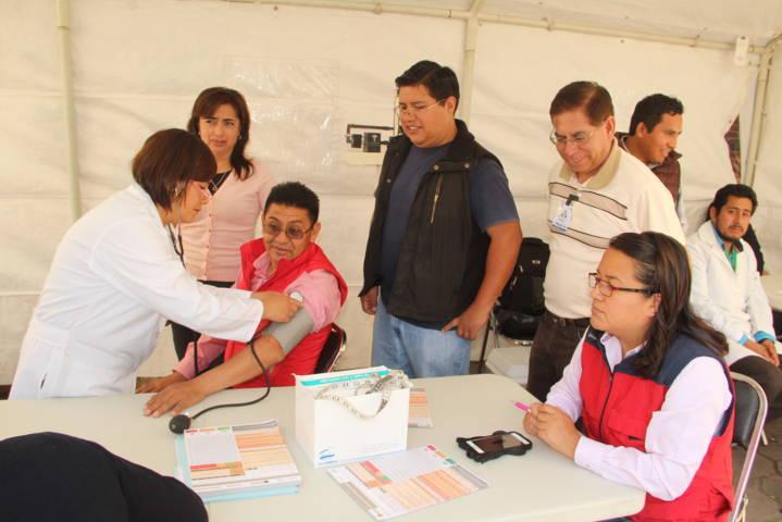 En esta jornada de la salud mejoramos la calidad de vida de los pobladores: alcalde
