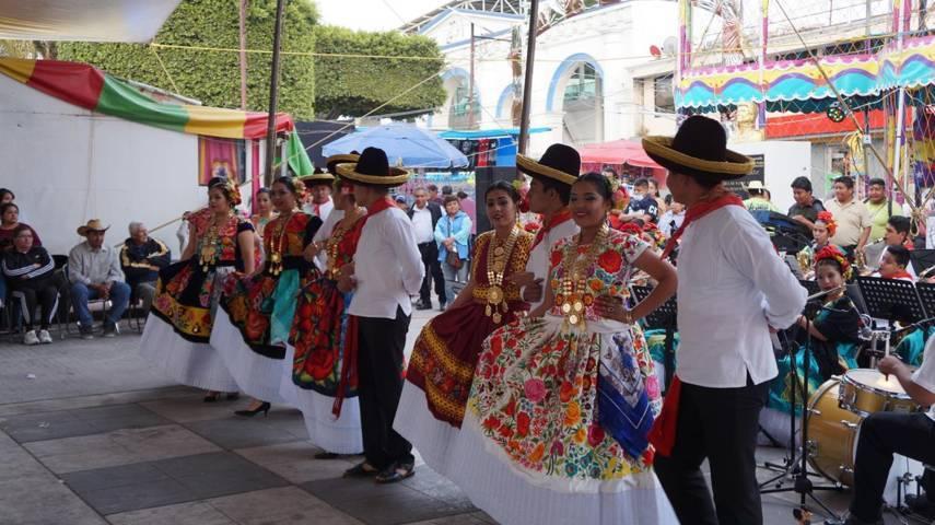 San Pablo del Monte sede de Encuentro Cultural Dancísticas entre Michoacán y Oaxaca