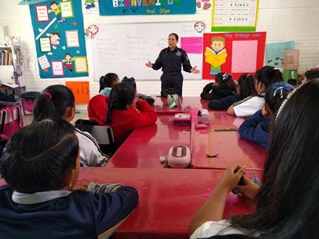 Con pláticas generamos una cultura de prevención en los niños: GCC