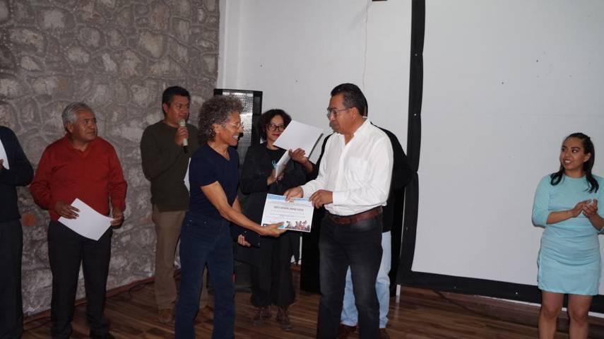 Compañia experimental de danza contemporanea CEDAC-LOTO se presenta en San Pablo del Monte
