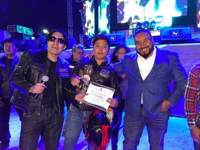 Celebra Halcones MC su 4 aniversario en Xicohtzinco
