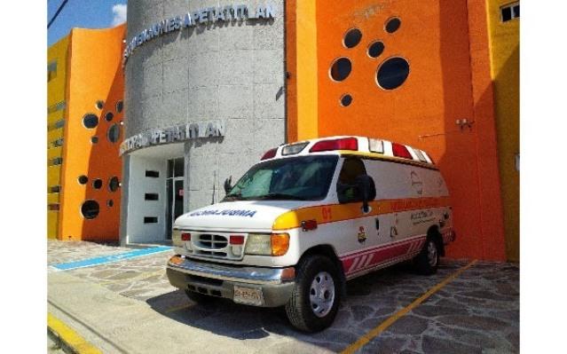 Reaparece ambulancia de Apetatitlán, pero excluye a pacientes Covid
