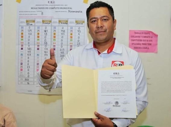 Queda firme el triunfo de Fernando Luna en la alcaldía de Acuamanala