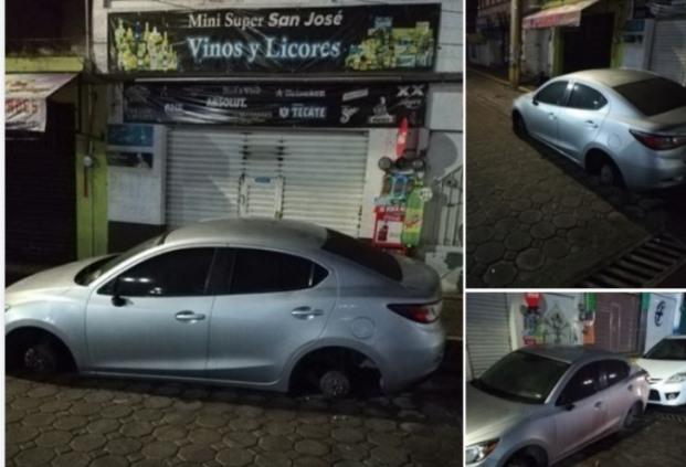 Se desata la delincuencia en Amaxac; robo de autopartes imparable