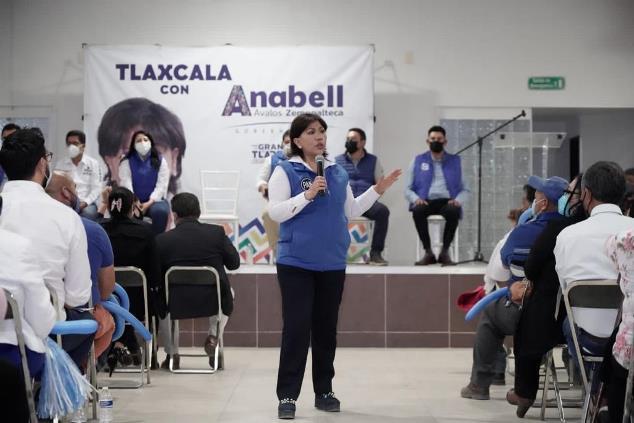 Proyecto de Anabell Ávalos garantiza unidad y continuidad en Tlaxcala