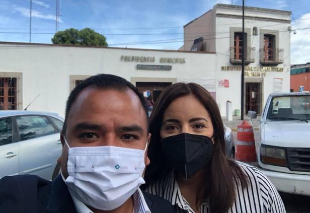 Ángelo Gutiérrez inicia proceso de entrega recepción en Apetatitlán