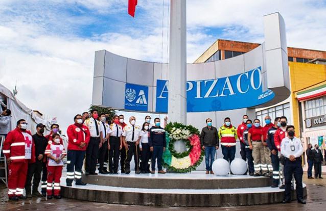 Gobierno de Apizaco reconoce labor de Protección Civil