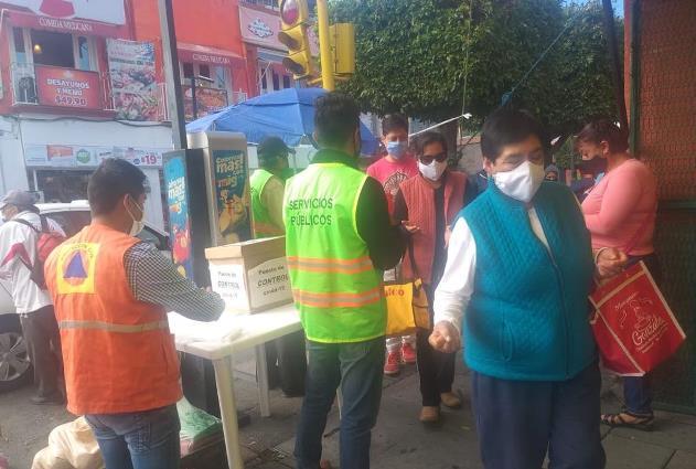 Pide Ayuntamiento a vendedores del tianguis acatar medidas de protección
