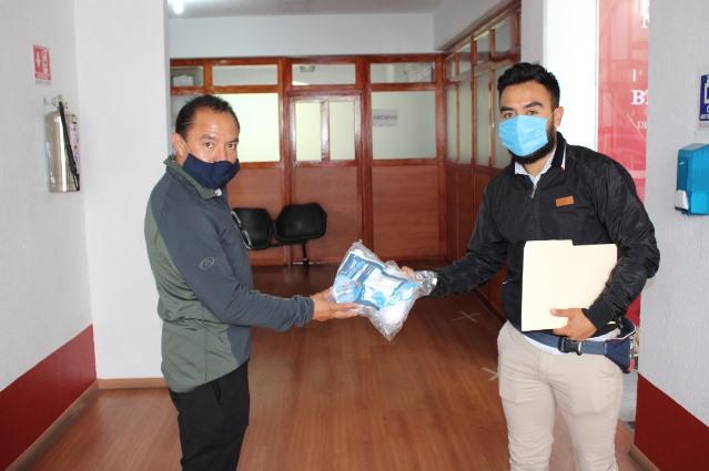 Embajada de Taiwán dona cubrebocas a Tlaxcala