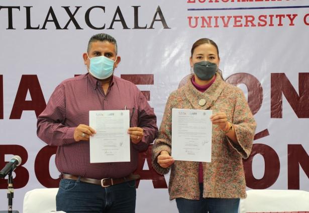 Congreso del Estado firma convenio de colaboración de becas
