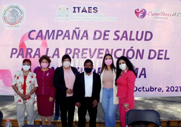 Lorena Ruiz arranca campaña de prevención de cáncer
