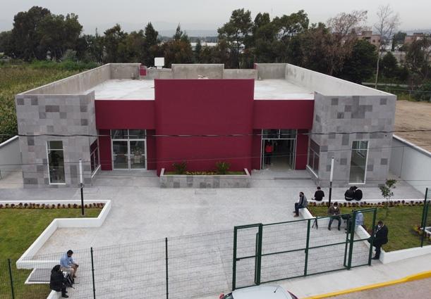 Logra Tomás Orea edificación de la Casa de Justicia en Zacatelco