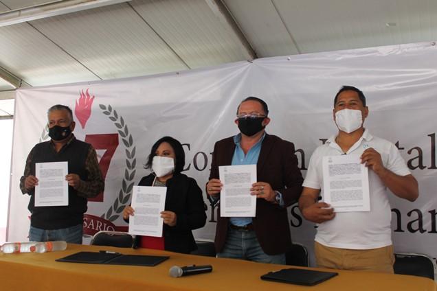 Fortalece CEDH vínculos con organizaciones de la sociedad civil