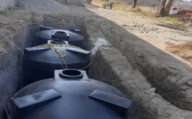 Instalan equipo para captar agua de lluvia en Contla