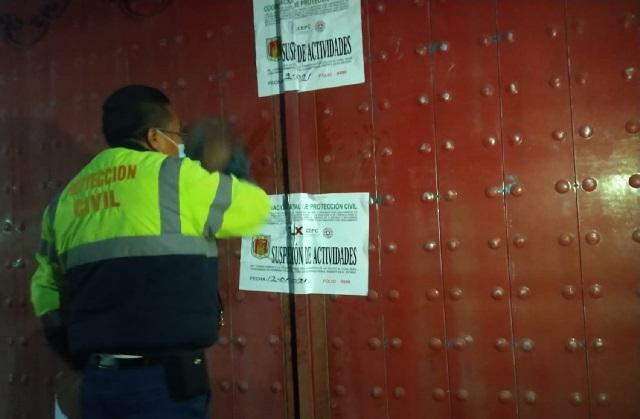Suspenden predios donde se almacenan irregularmente gas