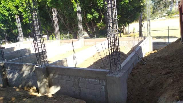 COBAT-TBC verifica inicio de construcción de cafetería en plantel 01