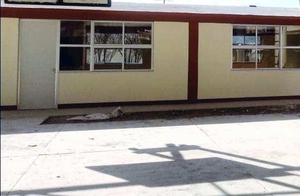 COBAT-TBC verifica construcción de la cafetería en plantel 15 Hueyotlipan