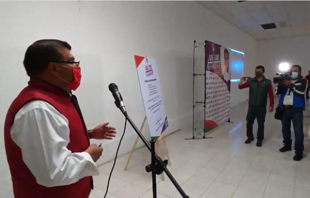 Ramírez Conde ofrecer mejorar seguridad y revisar cuotas por servicios en Apizaco