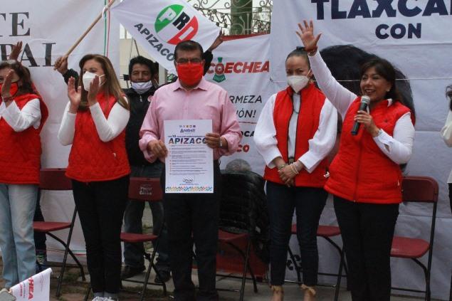 El 6 de junio ganará el voto por la dignidad apizaquense: Ramírez Conde