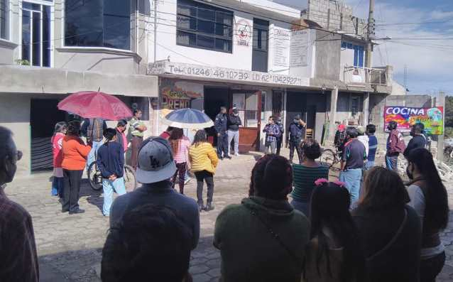 Se dispara la delincuencia en Contla; pobladores exigen resultados