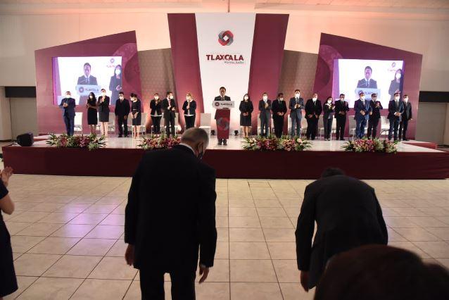 Jorge Corichi inicia su periodo como alcalde de Tlaxcala