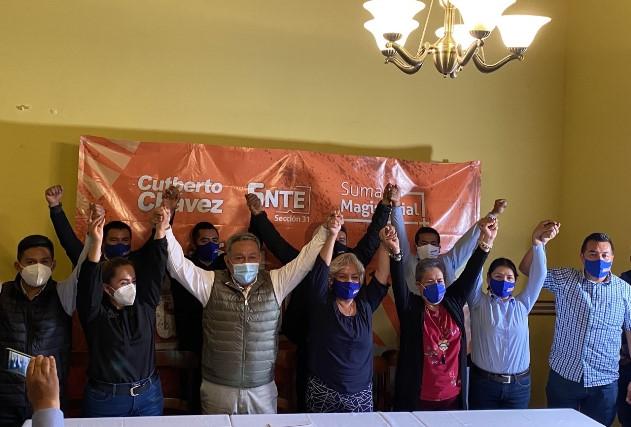 Cutberto Chávez gana con mil votos dirigencia del SNTE