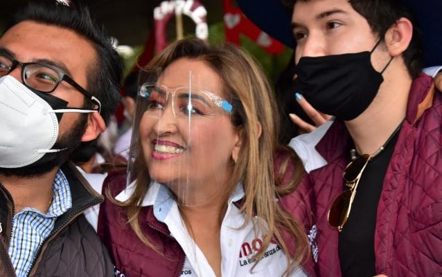 Lorena Cuéllar: Se acabaron los gobiernos corruptos