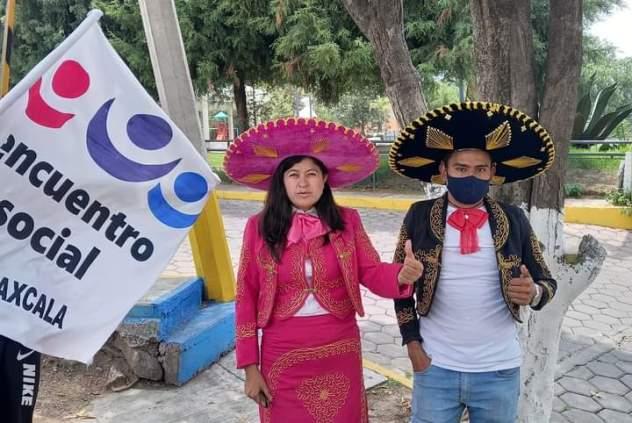 Denuncian vecinos a candidata del PES Tania Dosamantes por prepotencia